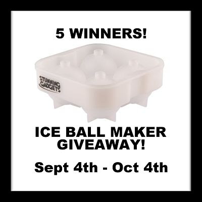 Blogger Opportunity: 5 Winners! Stunning Gadgets Ice Ball Maker Giveaway Sign Ups End 8/31 at 6 AM