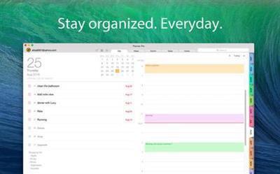 Planner Pro 1.1.1 Mac OS X