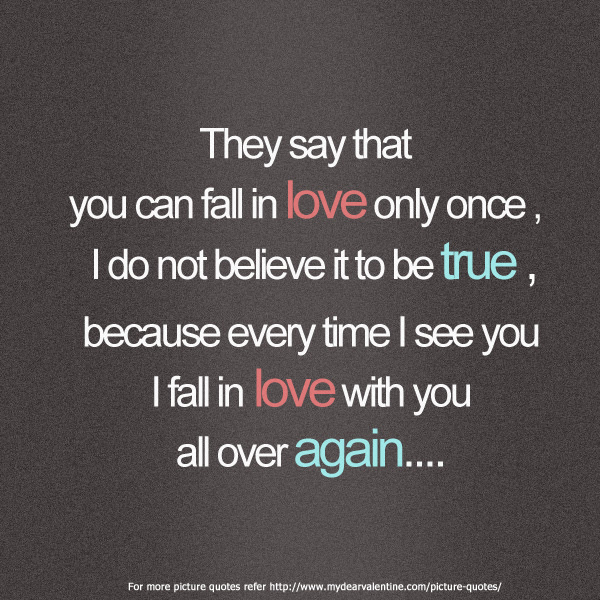 Quotes About Falling For You 104 Quotes