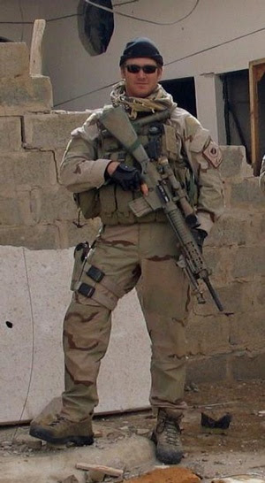 Former Navy SEAL Chris Kyle, was killed 2/2/2013 while assisting fellow veterans. He served with the SEAL Team 3 Sniper Element Charlie platoon, was the most lethal sniper in US history, with 160 confirmed kills and another 95 probables. He was known to his enemies as Al-Shaitan Ramad (The Devil of Ramadi). He earned 2 Silver Stars, 5 Bronze Stars with Valor, 2 Navy and Marine Corps Achievement Medals, and one Navy and Marine Corps Commendation. Chris leaves behind his wife Taya, two children.