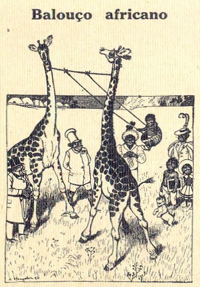 Almanaque Bertrand, 1934 - African swing 30