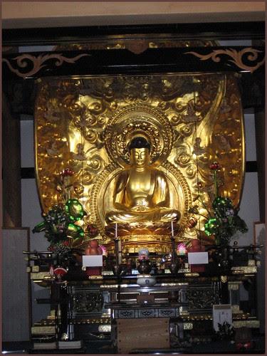 57 golden Amida Buddha