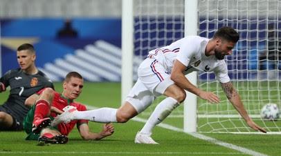 Дубль Жиру помог Франции разгромить Болгарию в контрольном матче перед Евро-2020