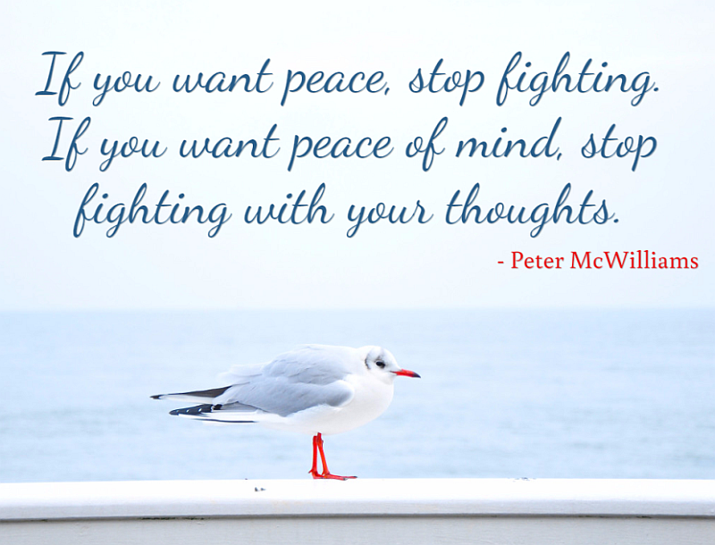 Peace Of Mind Quotes Self Help Daily