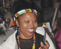 Thandi Mgxwati, the Counselor for Political and Economic Affairs of the South African High Commission in the Federal Republic of Nigeria. by Pan-African News Wire File Photos