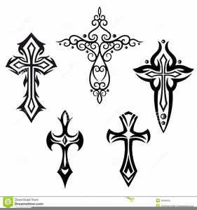 Crosses With Wings Clipart Free Images At Clkercom Vector Clip