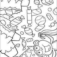 Dibujos Para Colorear Dulces Eshellokidscom