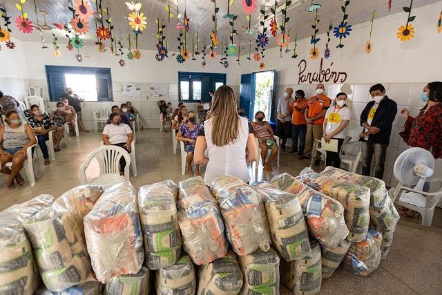 Juazeiro: Sedest recebe 1.000 cestas básicas do Programa Mais Infância