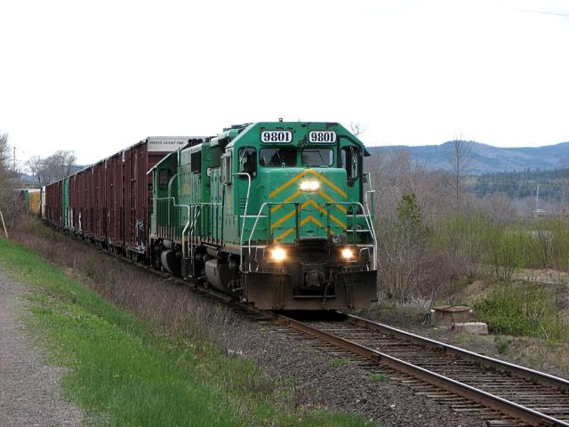 NBSR 9801 at Westfield Beach, NB