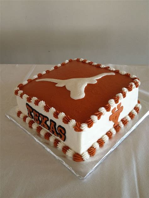 32 best Texas Longhorn Cakes images on Pinterest   Texas
