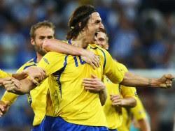 En blågul Zlatan