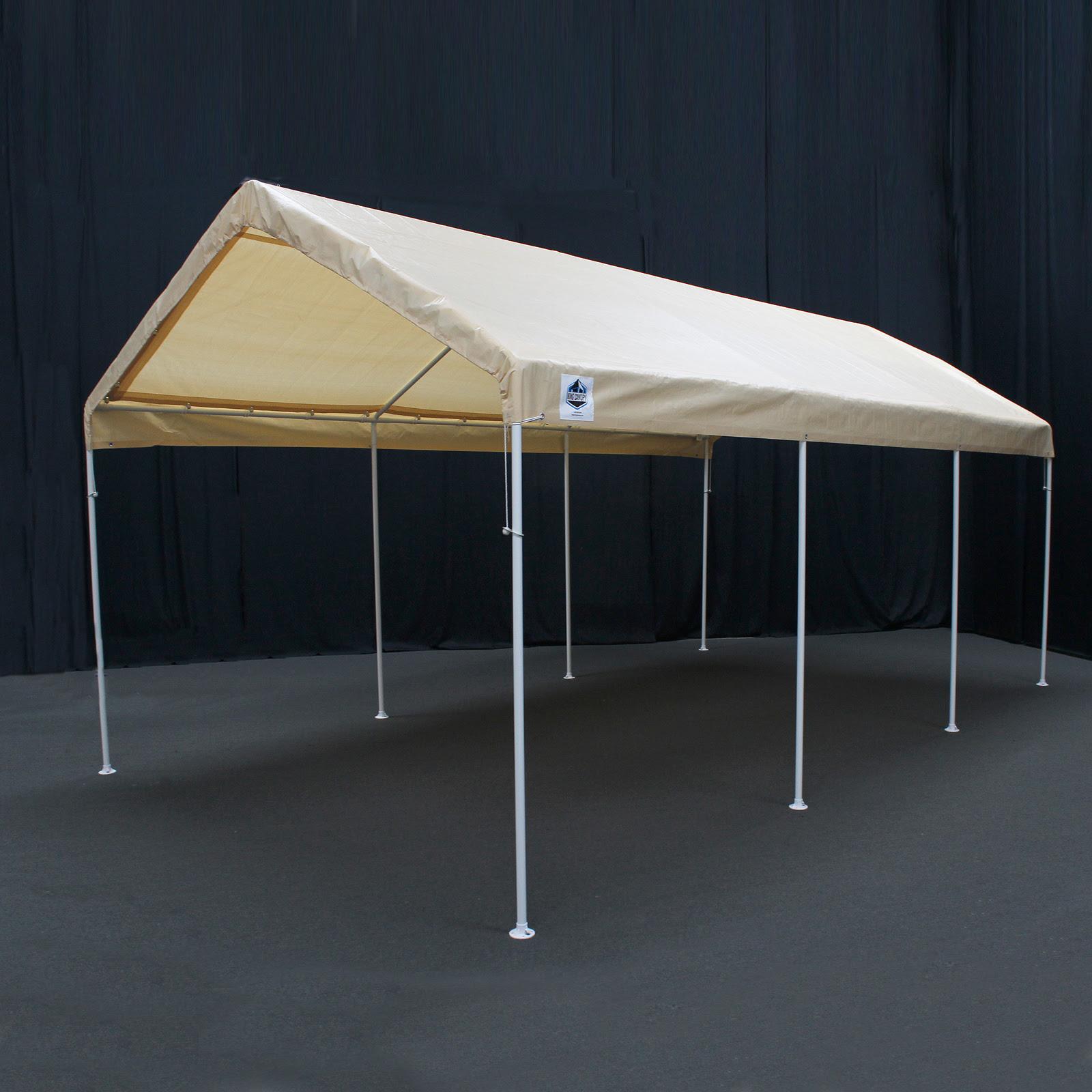 King Canopy Universal Canopy 10x20 8-Leg - Tan