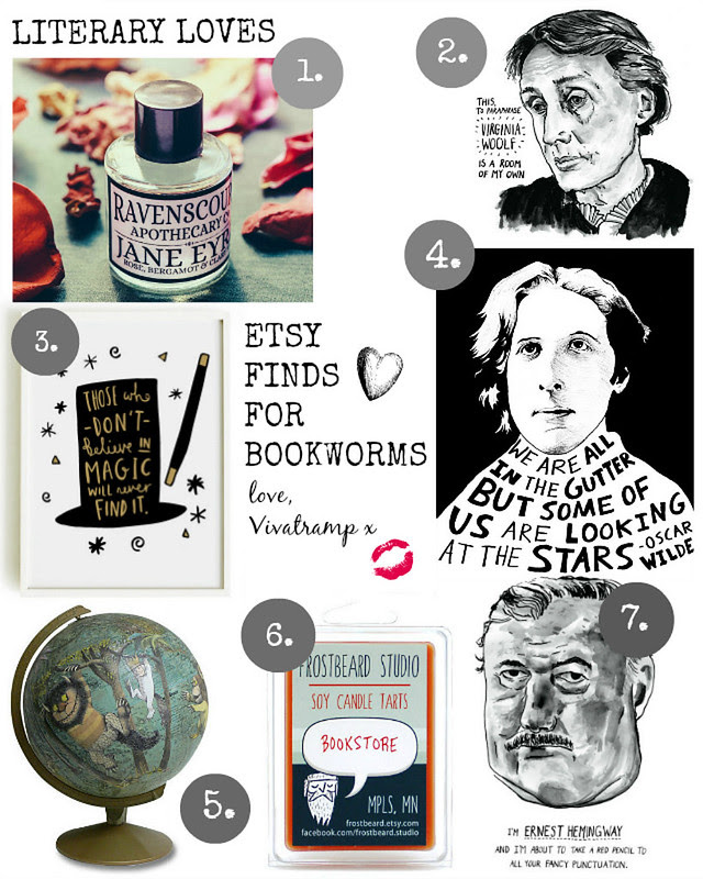 etsy vivatramp bookworm book lover gift ideas etsy finds