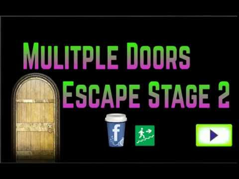 Multiple Doors Escape Stage 2 Walkthrough