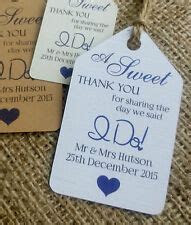 Personalised Wedding Gift Tags   eBay