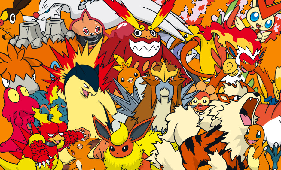 Pokemon Fire Red Wallpaper  WallpaperSafari