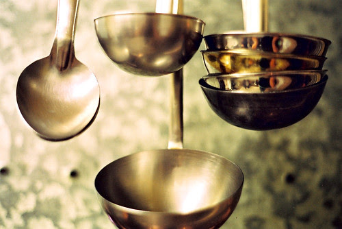 ladles and spoon
