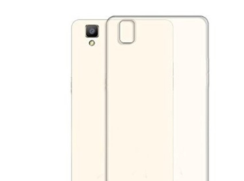 MURAH Priskila Ultrathin Softcase Untuk Oppo F1 Case Lentur Transparan Silicon Casing Cover - Putih Clear