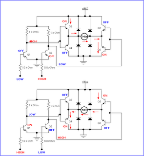 Simplified Logic Circuit Diagram moreover Motor Data Sheet additionally Wally moreover Dc Motor Resistor Circuit in addition How To Connect An L293d And An Mpu6050 To Run Together. on h bridge motor driver chip
