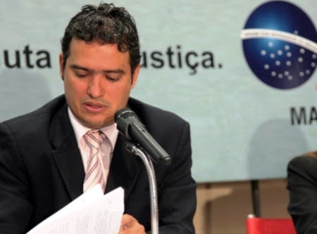 Rafael Silva em ação na Ordem, que silenciou sobre o caso