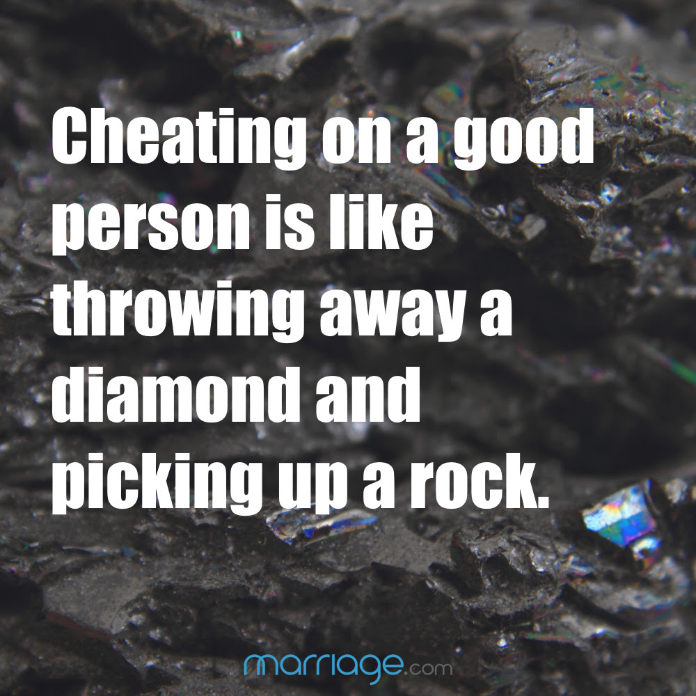 Cheating On A Good Person Is Like Throwing Marriage Quotes