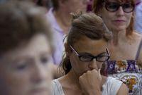 Pieta za oběti teroru v Barceloně.