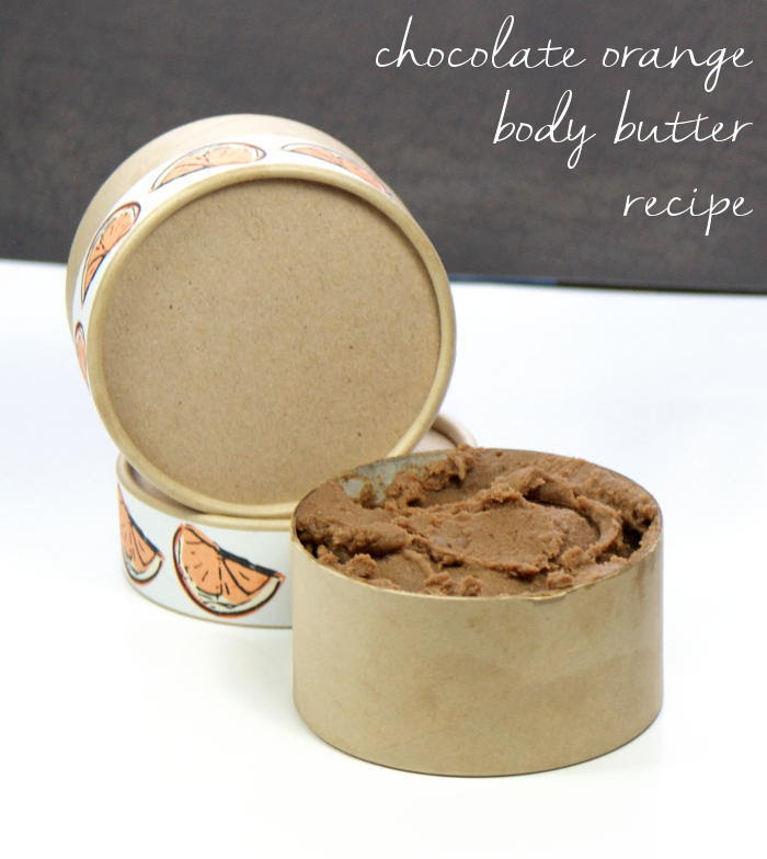 Homemade Chocolate Orange Body Butter Recipe