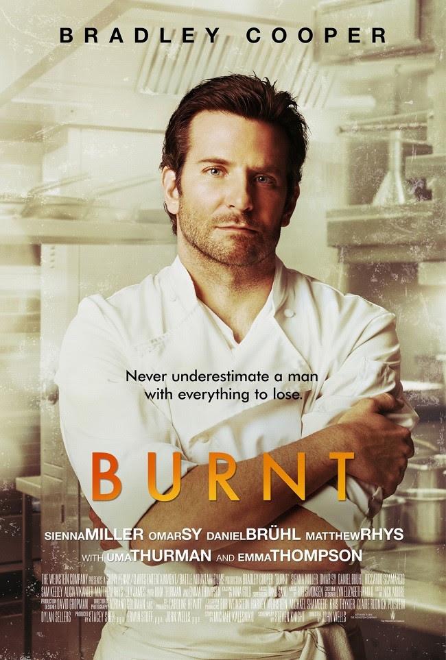 Cartel de 'Burnt'