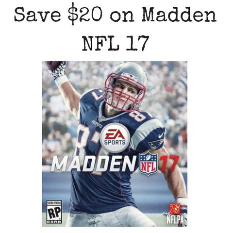 Amazon: Save $20 on Madden NFL 17  MyLitter  One Deal At A Time