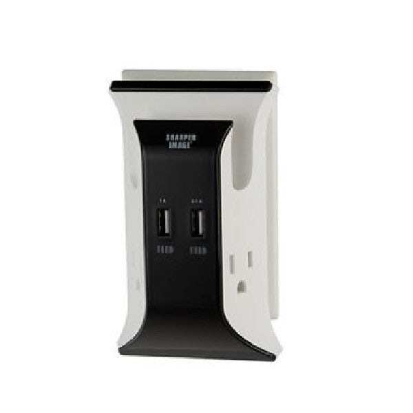 Sharper Image Visual Charge Usb Wall Plate Charger Ts1802