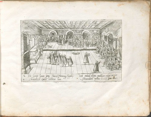 dining hall at Tübingen college, 1589