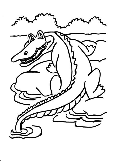 dangerous animals  africa coloring pages coloring pages