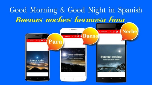Download Spanish Good Morning Good Night Wishes Love 806062 Apk