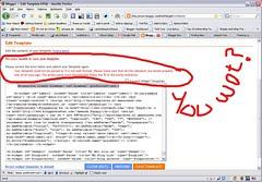 Blogger Blogumus failed installation