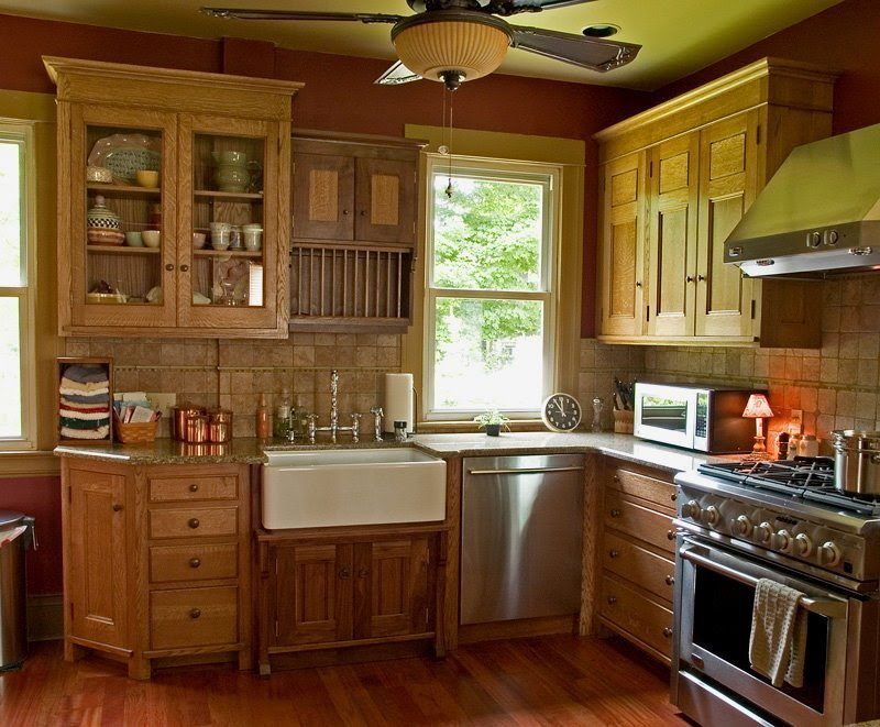 How to Clean Oak Kitchen Cabinets - Home Furniture Design