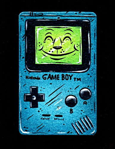 game boy ornament