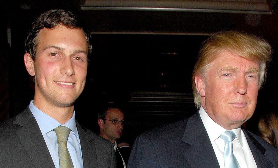 Jared Kurshner and Donald Trump