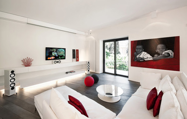 Modern And Luxury Apartment Located in Rome By Carola ...