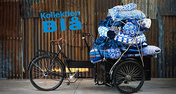 Ikea kollektion blå