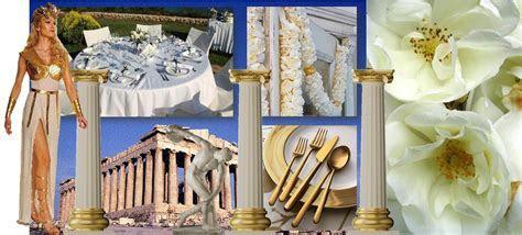 Greek Goddess Wedding Theme   Personally I fancy a bit of