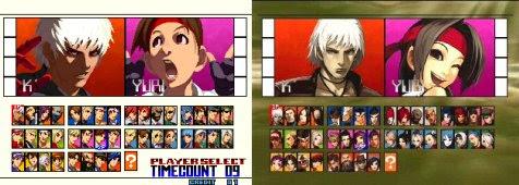 KOF 2001 Neo Geo VS Dreamcast