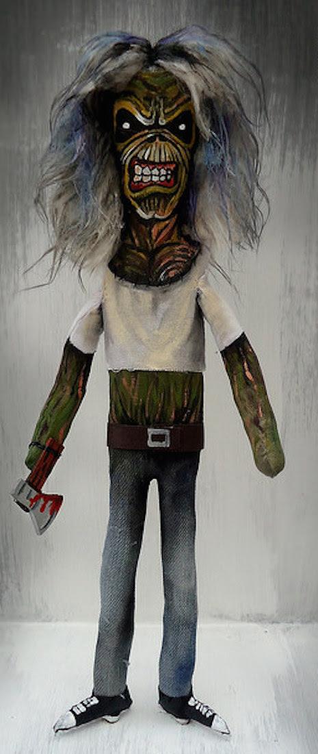 Iron Maiden's mascot, Eddie