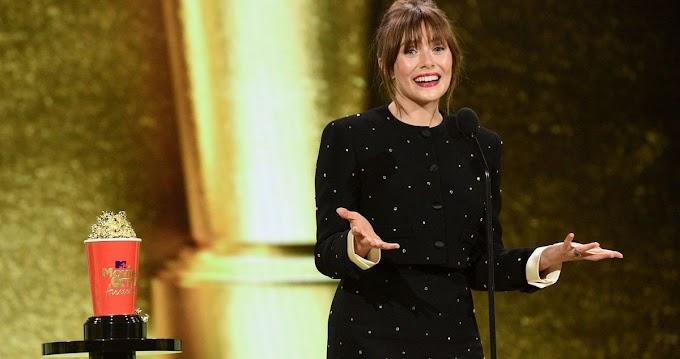 WandaVision Star Elizabeth Olsen Wins Best Performance in a Show at MTV Movie & TV Awards