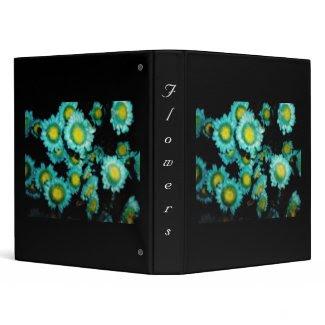 Flowers Vinyl Binder