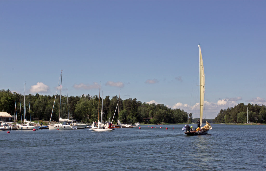Navegando en Helsinki