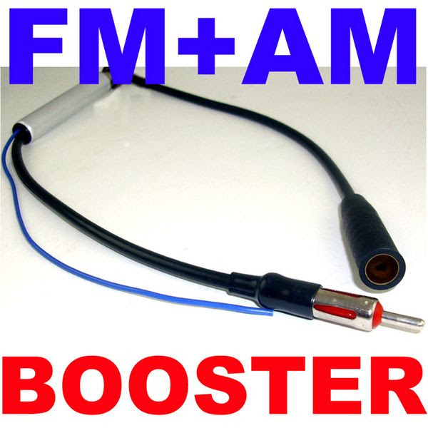 Wireless home intercom system: Fm aerial booster