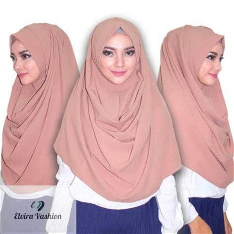 gambar hijab pashmina instan tutorial hijab terbaru