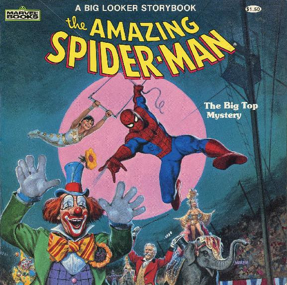 Spider-Man - The Big Top Mystery001
