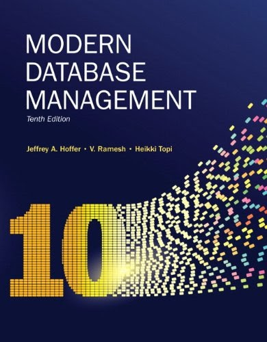 [PDF] Modern Database Management, 10th Edition Free Download