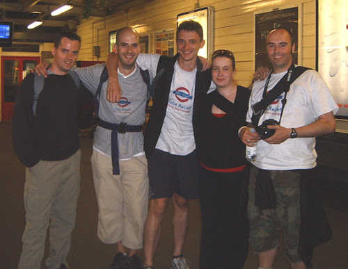 Adrian, Rich, Geoff, Ann & Neil